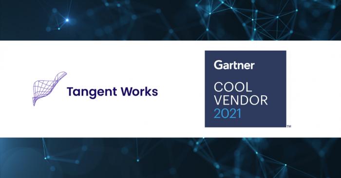 Tangent Works selected as cool vendor Gartner
