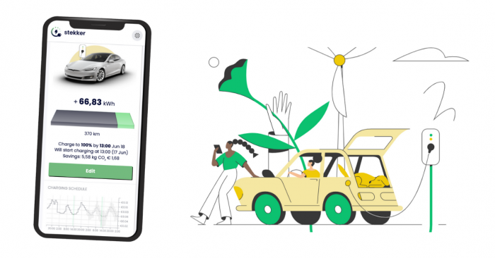 Stekker.App uses TIM's InstantML capabilities to predict the most economical times to recharge e-vehicles using solar and wind energy.